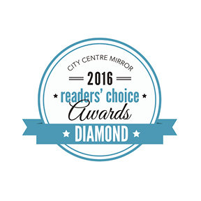 City Centre Mirror 2016 Reader's Choice Awards - Diamond