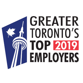 Greater Toronto's Top 100 Employers - 2019